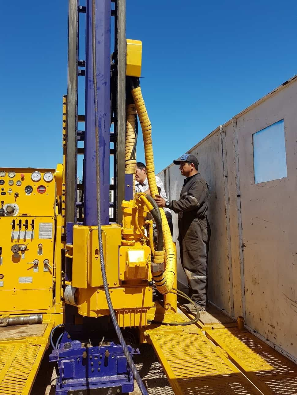 Lithium Chile Inc. is pleased to provide an update on the ongoing drill program at its wholly-owned Ollague project